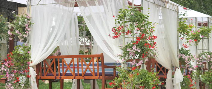 ריהוט הגן ועיצוב הגינה